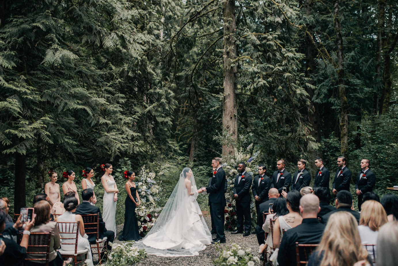 Remote Wedding Ceremony in the Appalachian Mountains