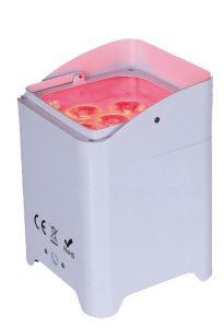 RPro Battery Powered RGBAUV Cube Uplight