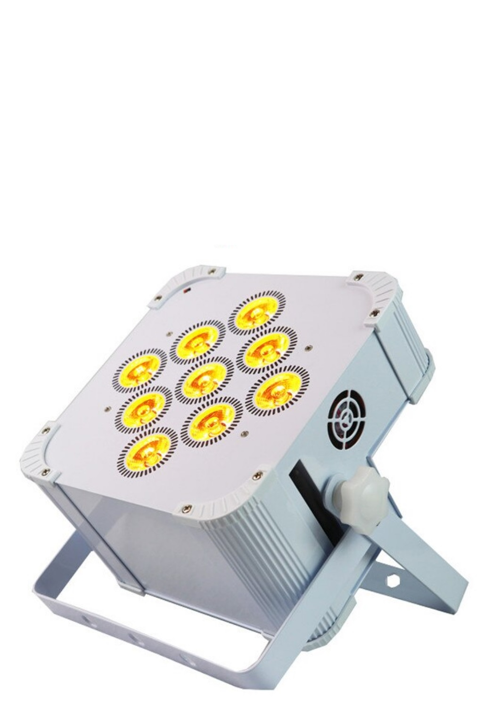 RPro Battery Powered RGBAUV Square Uplight