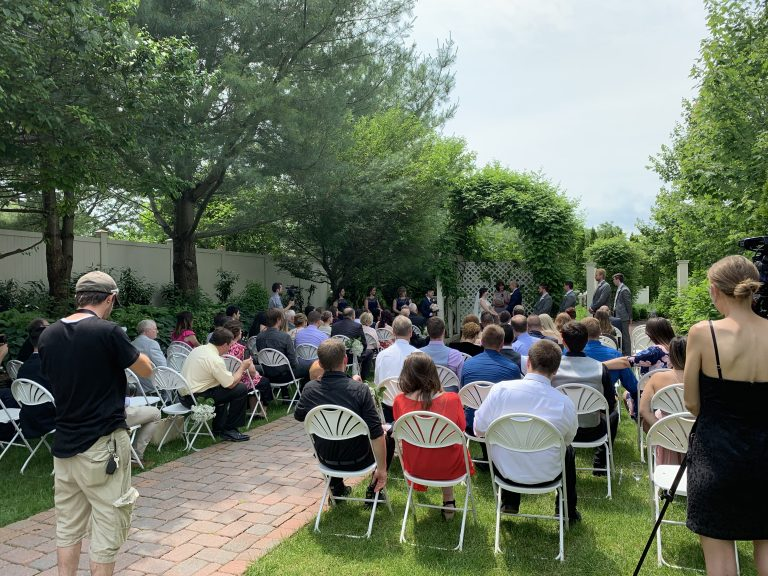 Wedding Ceremony at the Leola Village Inn